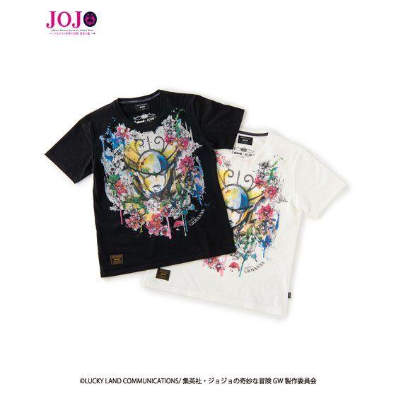 『ジョジョの奇妙な冒険 黄金の風』×『glamb』コラボレーションTシャツ2 アニメ・キャラクターグッズ新作情報・予約開始速報