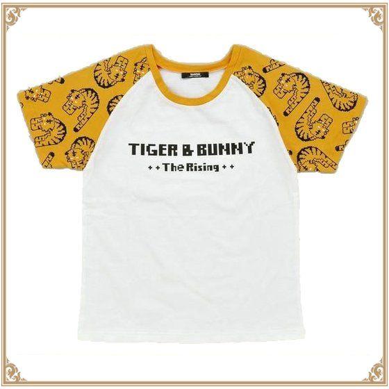 プレミアムバンダイ新着!劇場版TIGER & BUNNY The Rising ドットビット Tシャツ ぐったりタイガー柄 新作グッズ情報
