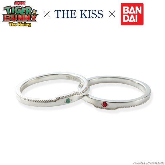 劇場版 TIGER & BUNNY -The Rising-×THE KISS リング 劇場版 TIGER & BUNNY -The Rising-×THE KISSコラボリングが復刻登場!