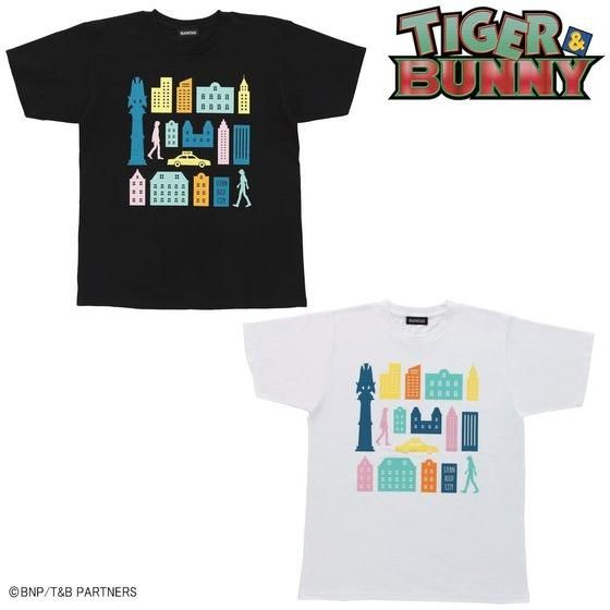 プレミアムバンダイ新着!TIGER & BUNNY シルエットTシャツ 2020 新作グッズ予約情報