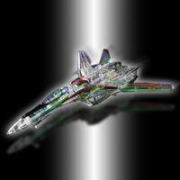 DX超合金 VF-25F メサイアバルキリー(フォールドクリアVer.)