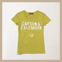 C&YSUN��C&LEMOON  LOGO TEES_CANDY LINES 001�s�V���c�i���S�j