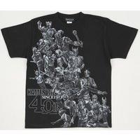 菅原芳人計画仮面ライダーシリーズTシャツ 仮面ライダー40周年スペシャルバージョン