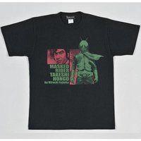 菅原芳人計画 本郷猛&1号ライダーTシャツ