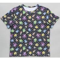 スマイルプリキュア!総柄Tシャツ (大人用)
