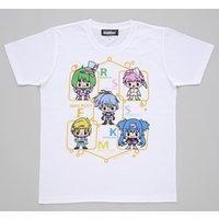 劇場版マクロスF ARTIST COLLECTION DEVILROBOTS Tシャツ 5人柄