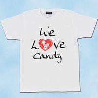 スマイルプリキュア!WE LOVE キャンディ 大人用Tシャツ