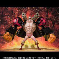 フィギュアーツZERO フランキー -ONE PIECE FILM Z 決戦服Ver.-
