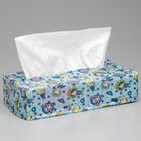 ワンピース BOXティッシュカバー デフォルメ和風総柄