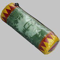 NARUTO-ナルト-疾風伝 円筒型ポーチ 巻物風 ナルト・サスケ柄