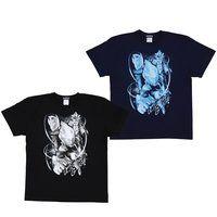 【ソフビ付き】ウルトラマンギンガ モノトーンデザインTシャツ