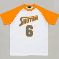黒子のバスケ ユニフォーム柄Tシャツ 緑間真太郎 6月お届け