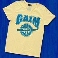 仮面ライダー鎧武 TEAM GAIM(チーム鎧武) Tシャツ ライトイエロー