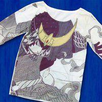 仮面ライダー鎧武 TEAM GAIM(チーム鎧武) 武将 長袖Tシャツ パープル(チャッキー)