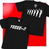 仮面ライダー ショッカー戦闘員 「YEEEEー!」Tシャツ