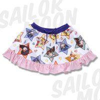 美少女戦士セーラームーン 総柄スカート