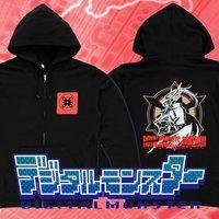 デジタルモンスター デュークモンX パーカー(As'まりあ氏デザインver)
