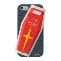 iPhone5&5s対応シリコンジャケット 機動戦士ガンダム ガンダムシールド