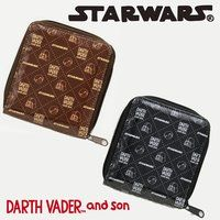 STAR WARS DARTH VADER and son プリントウォレット 【starwars_y】