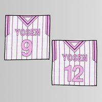 黒子のバスケ ミニタオル ユニフォーム柄 陽泉高校