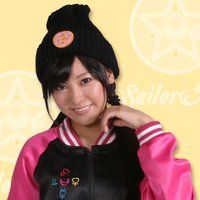 美少女戦士セーラームーン ニットキャップ(クリスタルスター柄)