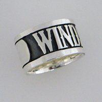 �y���Y�z���ʃ��C�_�[W�@WIND SCALE silver925�@�����O