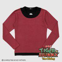 劇場版 TIGER & BUNNY The Rising バーナビーロングTシャツ