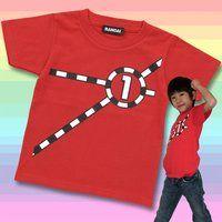 烈車戦隊トッキュウジャー トッキュウ1号Tシャツ(KIDSサイズ)