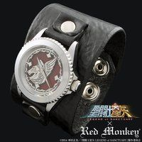 �����m���� LEGEND of SANCTUARY x red monkey designs Collaboration Wristwatch�@����f��