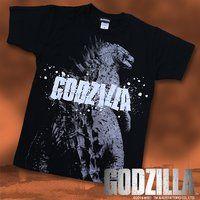 ハリウッド版 『GODZILLA』 Tシャツ ゴジラビッグプリント柄