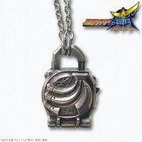 仮面ライダー鎧武 ロックシードデザイン silver925ネックレス バナナロックシード