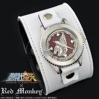 �����m���� LEGEND of SANCTUARY x red monkey designs Collaboration Wristwatch�@WHITE�@Ver.