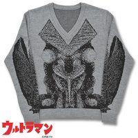 ウルトラマン バルタン星人 Vネックセーター