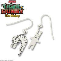劇場版TIGER & BUNNY The Rising ドットビット silver925 ピアス ぐったりタイガー&ウサギ