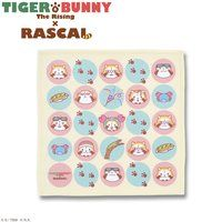 TIGER��BUNNY The Rising �~ RASCAL �}�C�N���t�@�C�o�[�~�j�^�I��