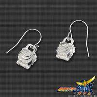 仮面ライダー鎧武 バナナロックシード silver925製 プチピアス