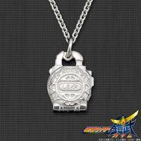 仮面ライダー鎧武 メロンロックシード silver925製 プチネックレス