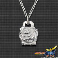 仮面ライダー鎧武 バナナロックシード silver925製 プチネックレス