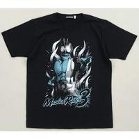 スーパーヒーロー大戦GP 仮面ライダー3号Tシャツ バストアップ柄