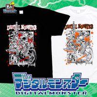 デジタルモンスター デジモン15周年記念Tシャツ