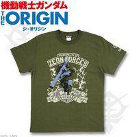 機動戦士ガンダム THE ORIGIN Tシャツ MS-05柄