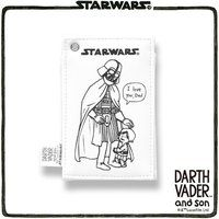 STAR WARS DARTH VADER and son パスケース