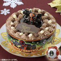 キャラデコクリスマス 仮面ライダーゴースト (チョコクリーム)