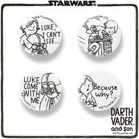 STAR WARS DARTH VADER and son バッジ
