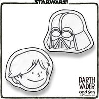STAR WARS DARTH VADER and son ミニタオル