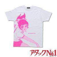 アタックNo.1 ビッグプリントTシャツ