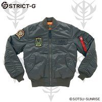 STRICT-G×ALPHA MA-1 FLIGHT JACKET 【15A/W ザクモデル】