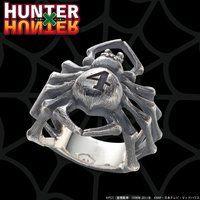 【受注生産】HUNTER×HUNTER 旅団クモリング ナンバー4 ヒソカ/カルト