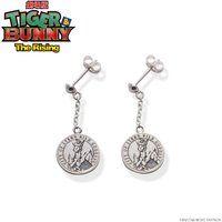 劇場版 TIGER & BUNNY -The Rising- シュテルンビルト 女神像 silver925ピアス