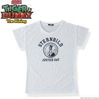 劇場版 TIGER & BUNNY -The Rising- シュテルンビルト 女神像 Tシャツ